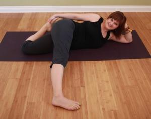 yin yoga for runners  bodhi tree pose