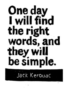 kerouac_simplicity
