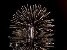fireworkswater
